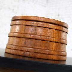 Jens Quistgaard Scandinavian modern teak ice bucket by jens quistgaard for dansk - 1706029