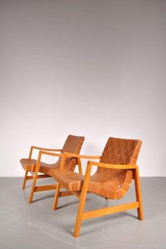 Jens Risom 1941s Pair of Two Vostra Easy Chairs by Jens Risom for Knoll USA - 821927