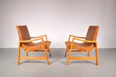 Jens Risom 1941s Pair of Two Vostra Easy Chairs by Jens Risom for Knoll USA - 821930