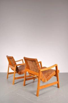 Jens Risom 1941s Pair of Two Vostra Easy Chairs by Jens Risom for Knoll USA - 821932