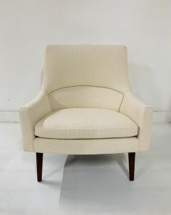 Jens Risom Jens Risom Lounge A Chair and Matching Ottoman Model 6540 - 1306823