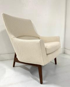 Jens Risom Jens Risom Lounge A Chair and Matching Ottoman Model 6540 - 1306825