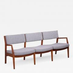 Jens Risom Jens Risom Three Seat Sofa by Jens Risom Inc in Solid Walnut - 526357
