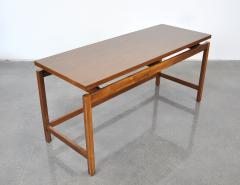 Jens Risom Jens Risom Walnut Console Table - 1010452