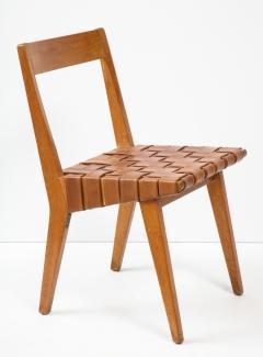 Jens Risom Jens Risom chair Model 666wsp Knoll International Brass label USA 1941 - 1062437
