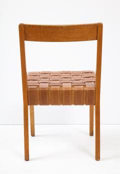 Jens Risom Jens Risom chair Model 666wsp Knoll International Brass label USA 1941 - 1062441