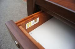 Jens Risom Midcentury Walnut Executive Desk by Jens Risom - 1222824