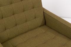 Jens Risom New Upholstered Jens Risom Lounge Chair in Risom Camira Fabric US 1950s - 1913455