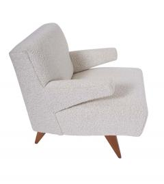 Jens Risom Paddle Arm Lounge Chairs - 1312460