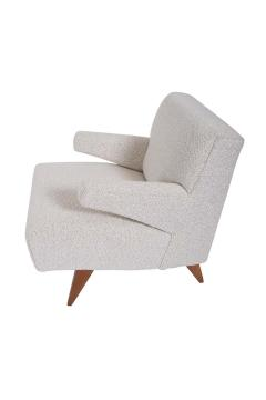 Jens Risom Paddle Arm Lounge Chairs - 1312461