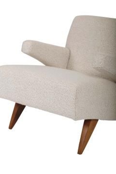 Jens Risom Paddle Arm Lounge Chairs - 1312463
