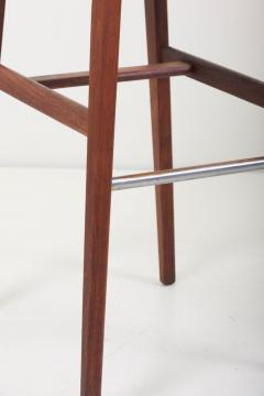 Jens Risom Pair of Bar Stools by Jens Risom US 1960s - 1134883