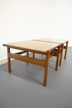 Jens Risom Pair of Jens Risom End Side Tables - 1480998