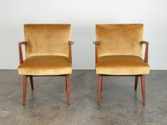 Jens Risom Pair of Jens Risom Occasional Chairs - 1298006