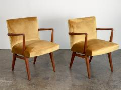 Jens Risom Pair of Jens Risom Occasional Chairs - 1298008