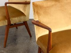 Jens Risom Pair of Jens Risom Occasional Chairs - 1298010