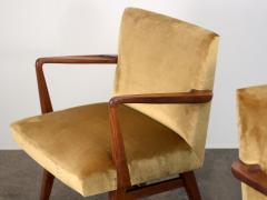 Jens Risom Pair of Jens Risom Occasional Chairs - 1298011