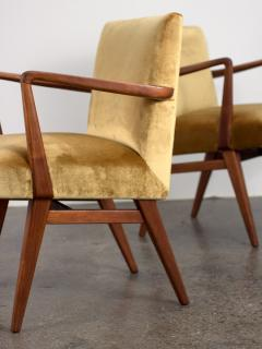 Jens Risom Pair of Jens Risom Occasional Chairs - 1298012