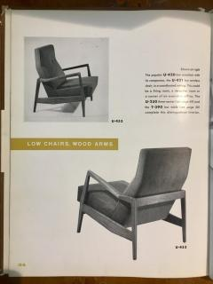Jens Risom Restored U453 Lounge Chair by Jens Risom - 1044095