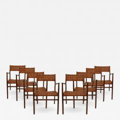 Jens Risom Set of Eight Chairs Designed by Jens Risom - 513212