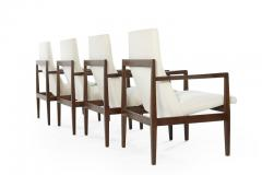 Jens Risom Set of Four Lounge Chairs by Jens Risom c 1960s - 1897652