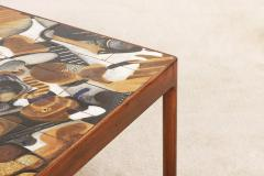 Jeppe Hagedorn Olsen Jeppe Hagedorn Olsen Large Coffee Table with Ceramic Tiles 1960 - 1173341