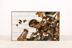 Jeppe Hagedorn Olsen Jeppe Hagedorn Olsen Large Coffee Table with Ceramic Tiles 1960 - 1173343