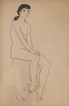 Jerry ODay Nude Drawing 1 - 1203947