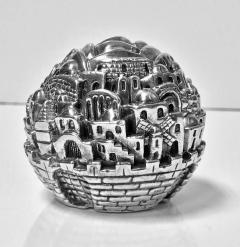 Jerusalem Sterling Sculpture Paperweight Sam Philipe  - 1166268