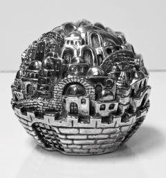 Jerusalem Sterling Sculpture Paperweight Sam Philipe  - 1166269