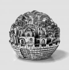 Jerusalem Sterling Sculpture Paperweight Sam Philipe  - 1166271