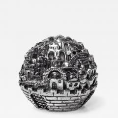 Jerusalem Sterling Sculpture Paperweight Sam Philipe  - 1167209