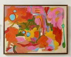 Jessie Mackay COLOURFUL ABSTRACT PAINTING BY JESSIE MACKAY - 2095370