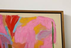 Jessie Mackay COLOURFUL ABSTRACT PAINTING BY JESSIE MACKAY - 2095371