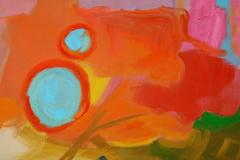 Jessie Mackay COLOURFUL ABSTRACT PAINTING BY JESSIE MACKAY - 2095372