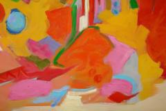 Jessie Mackay COLOURFUL ABSTRACT PAINTING BY JESSIE MACKAY - 2095373