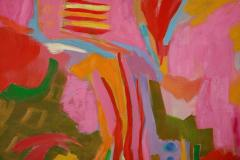 Jessie Mackay COLOURFUL ABSTRACT PAINTING BY JESSIE MACKAY - 2095375