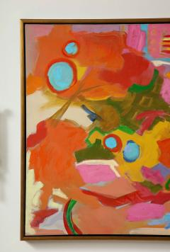 Jessie Mackay COLOURFUL ABSTRACT PAINTING BY JESSIE MACKAY - 2095376