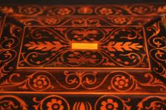 Jewelry Casket Box Rosewood Maple with Floral Inlays Vienna circa 1860 - 1612381