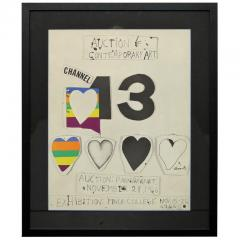 Jim Dine I Love Public Television for Channel 13 by Jim Dine - 1912543