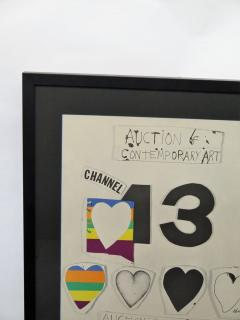 Jim Dine I Love Public Television for Channel 13 by Jim Dine - 1912544