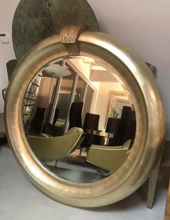 Jimeco Ltd Monumental Silver Round Mirror by Jimeco 1996 - 1397731