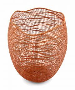 Jin Morigami Contemporary Japanese Bamboo Sculptural Basket Morikami Jin - 1767322