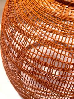 Jin Morigami Contemporary Japanese Bamboo Sculptural Basket Morikami Jin - 1767342