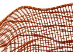 Jin Morigami Contemporary Japanese Bamboo Sculptural Basket Morikami Jin - 1767350