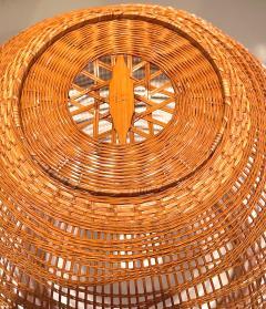 Jin Morigami Contemporary Japanese Bamboo Sculptural Basket Morikami Jin - 1767351