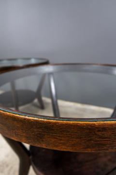 Jindrich Halabala 1930s Jindrich Halabala Bentwood Glass Circular Table Czech - 2169639