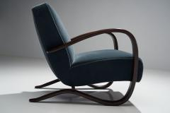 Jindrich Halabala Pair Of Jind ich Halabala Lounge Chairs Czech Republic ca 1930s - 1207617