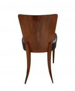 Jindrich Halabala Pair of Halabala Dining Chairs H 214 Walnut Veneer 1930s - 1331713