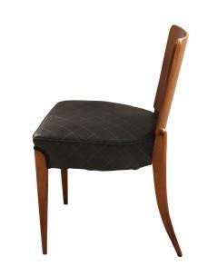 Jindrich Halabala Pair of Halabala Dining Chairs H 214 Walnut Veneer 1930s - 1331714
